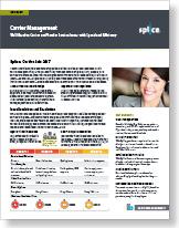 data sheet carrier mgt